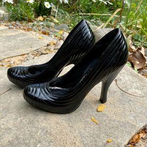 BCBGirls Black Patent Leather Heels
